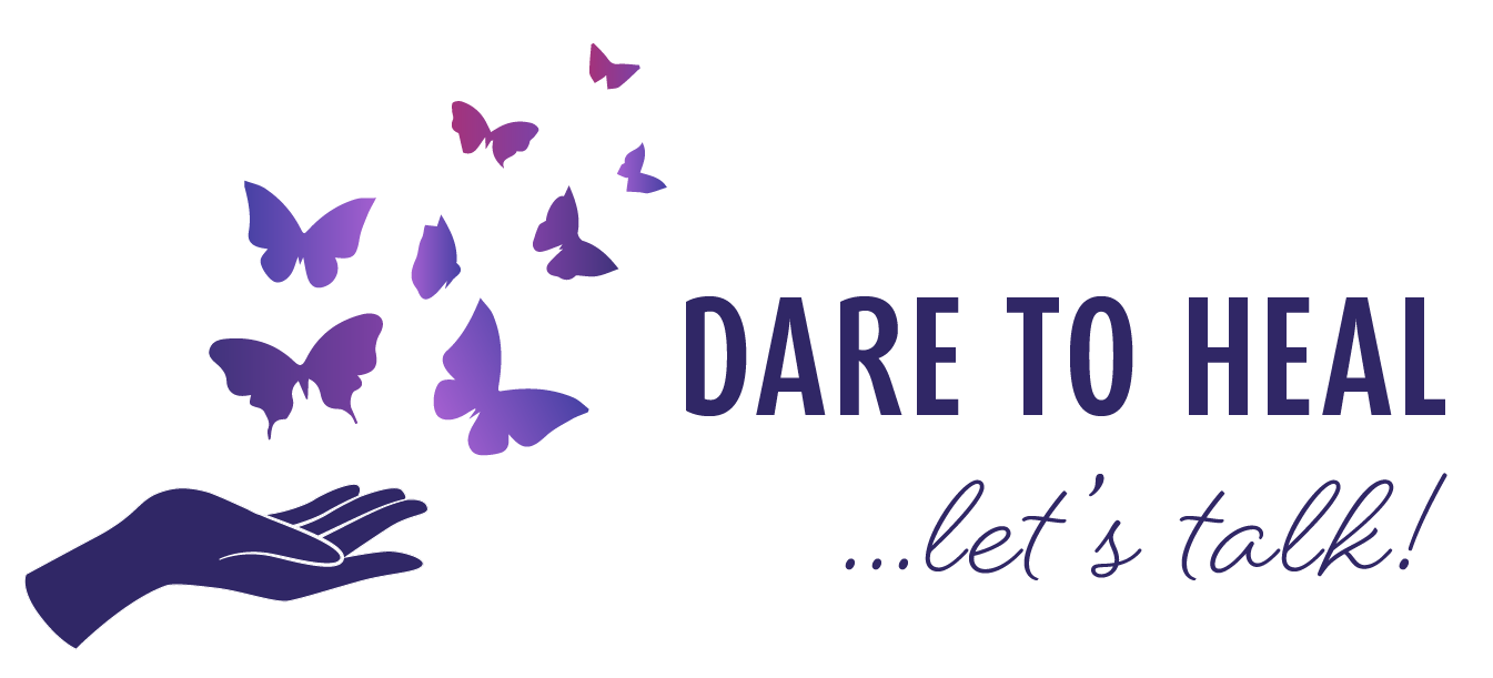 logo of hand with butterflies flying away